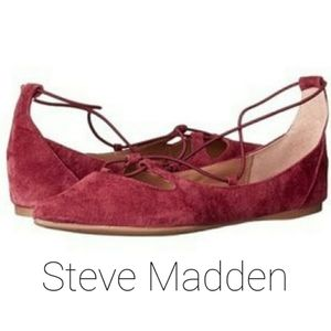 Steve Madden Bungiee Strappy Flats